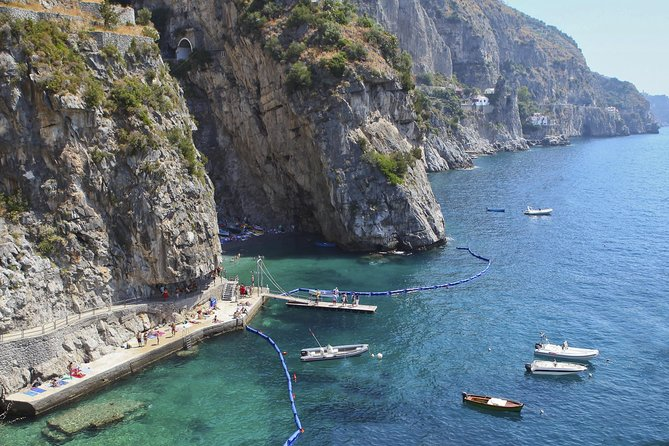 Small-group boat tour of Amalfi Coast from Positano