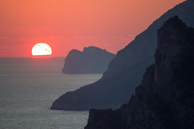 Private Tour: Amalfi Coast Sunset Cruise from Positano