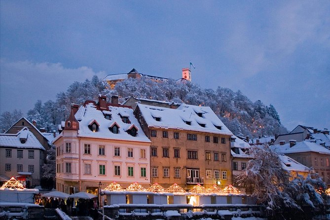 Ljubljana Winter Christmas Market Tour with Mulled Wine