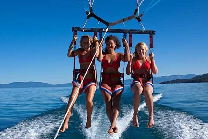 South Lake Tahoe Parasailing