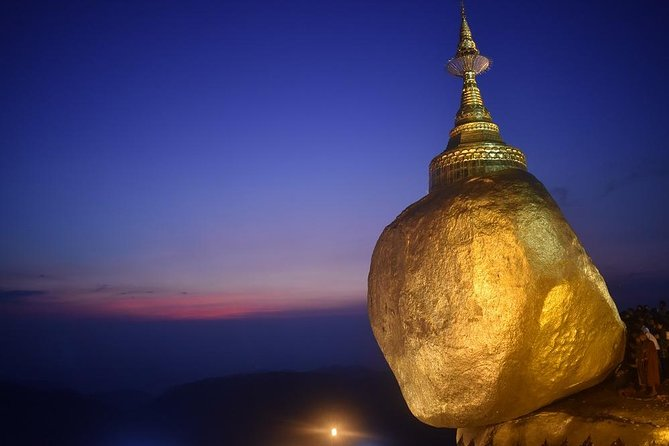 Golden Rock day trip from Yangon