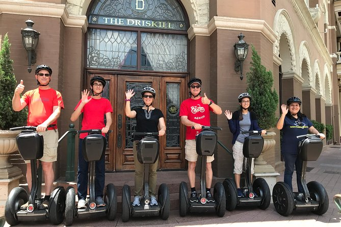 Segway to the Driskill Hotel