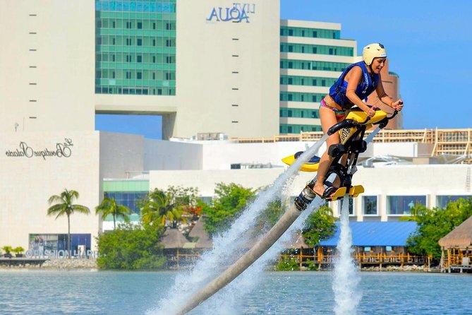 Jetovator Flight in Cancun