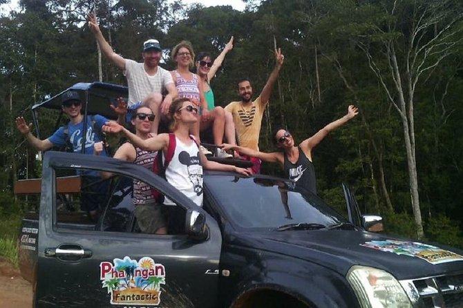 Off-road trip in koh Phangan