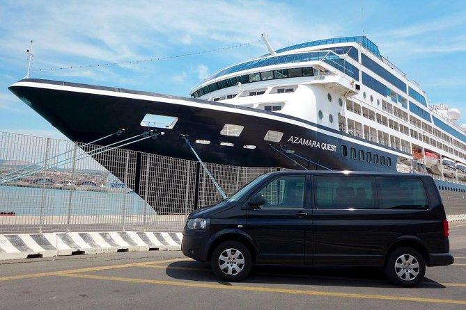Private transfer from Civitavecchia port to Fiumicino airport (FCO)