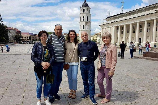 Vilnius sightseeing walking - driving tour
