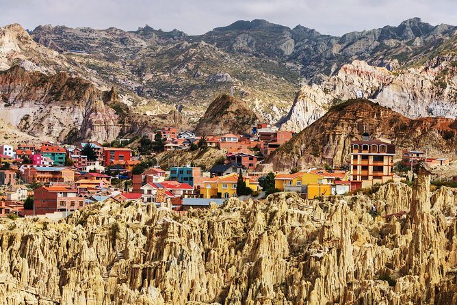 Private Tour: La Paz City Sightseeing and Moon Valley