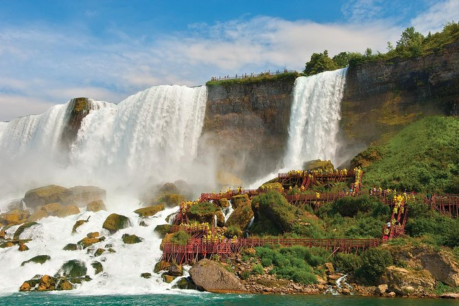 Best of Niagara Falls, USA, Maid of the Mist+Cave of the Winds Private Safe Tour