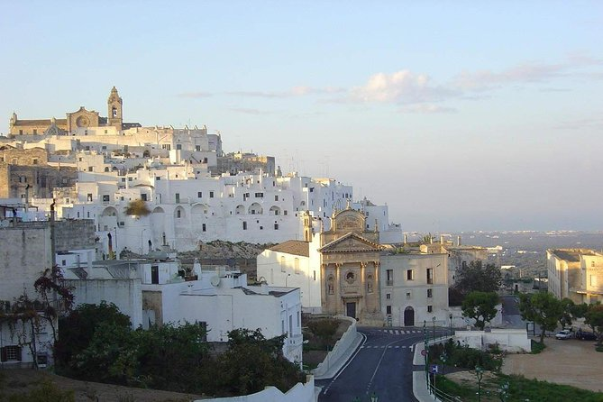 Ostuni and Polignano a mare from Central Apulia