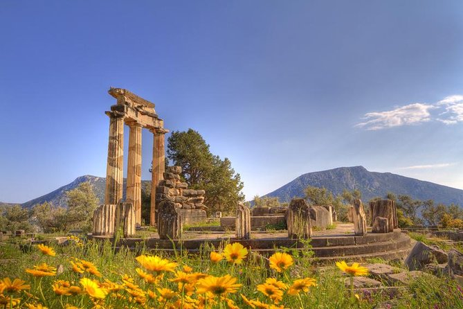 Private Tour: Delphi Day Trip from Athens Including wonderful local Lunch