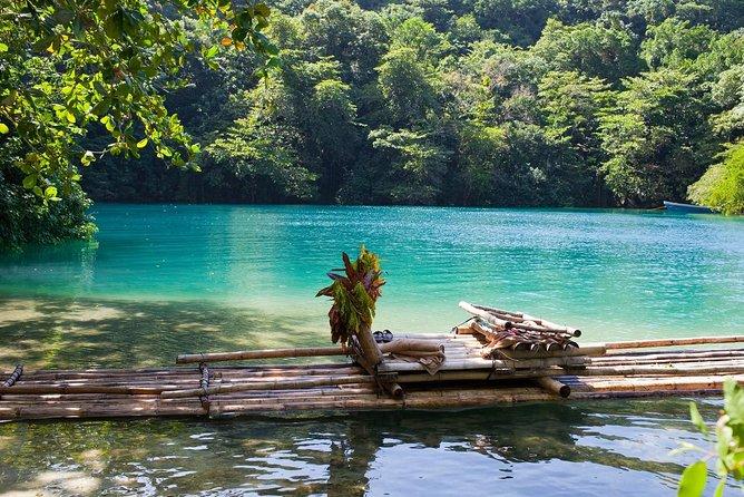 Excursión de un día a Bikini Beach, Blue Lagoon y Río Grande desde Runaway Bay u Ocho Rios