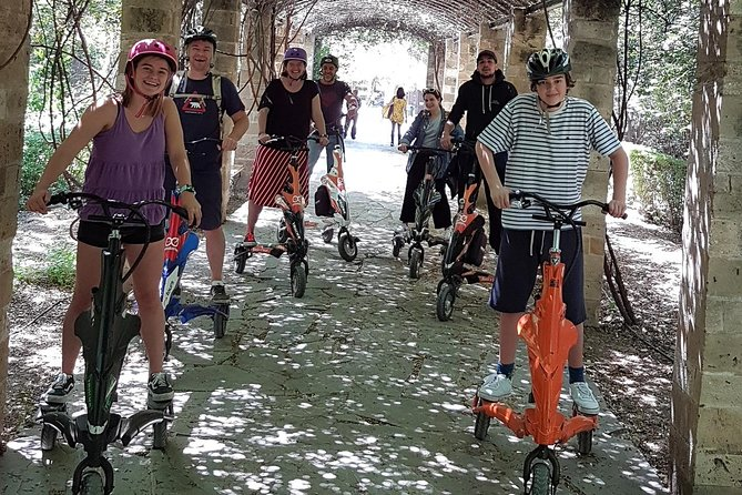 Athens Mystery Small Group Trikke Tour