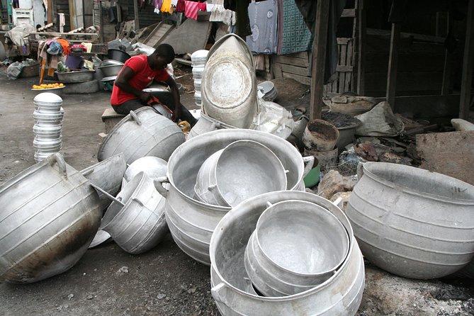 Visite culturelle à pied d'Accra: les arts, artisanats et l'industrie