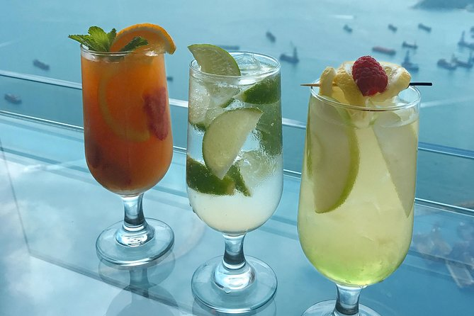 Skip the Line:sky100 Beverage Package at Café 100 by The Ritz-Carlton, Hong Kong