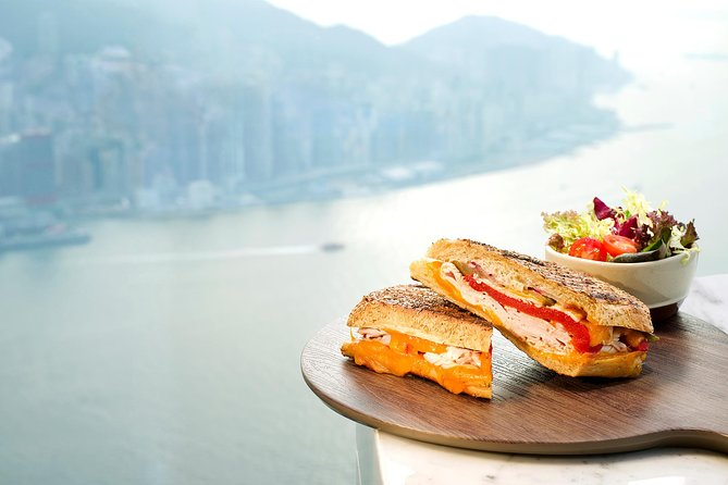 Skip the Line: sky100 Dining Package at Café 100 by The Ritz-Carlton, Hong Kong