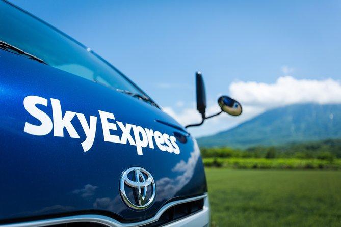 SkyExpress Private Transfer: New Chitose Airport to Niseko (8 Passengers)