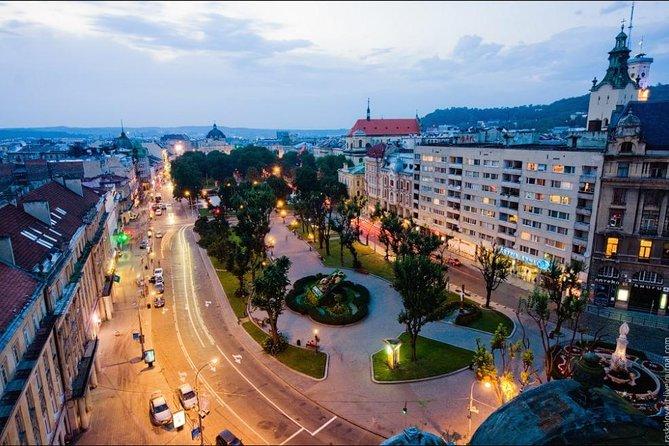 Fin de semana en Lviv