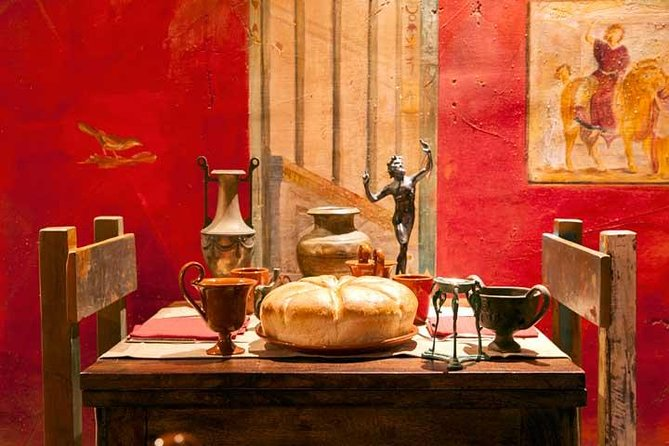 Pompeii Tour from Sorrento:learn about Roman Life tasting food of Ancient City