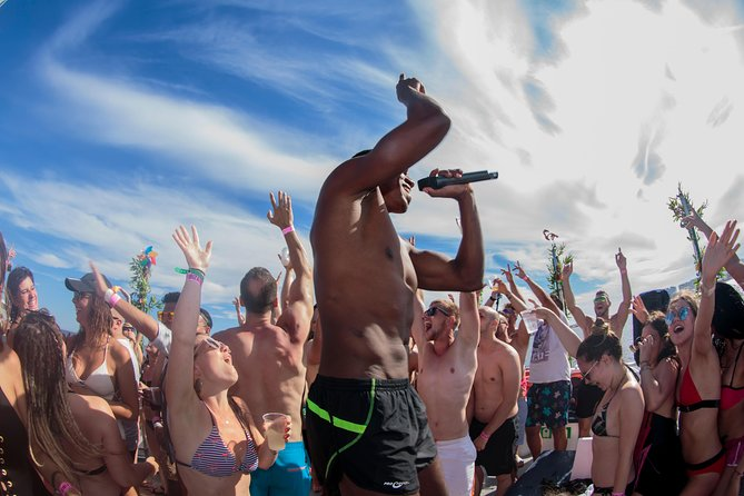 Only Ibiza boat party!