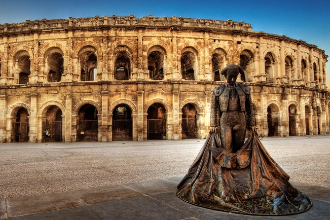Nimes private walking tour