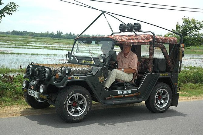 Jeep tour to Marble Mountain, Son Tra Peninsula and Hai Van Pass from Hoi An