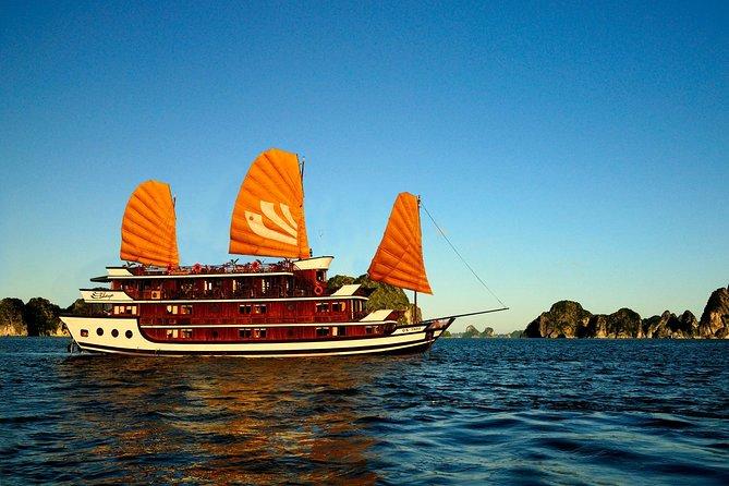 Crucero de 2 días en Ha Long: lujo, chatarra