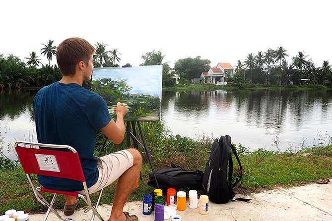 Half-Day Countryside Bike and Painting Tour from Hoi An City