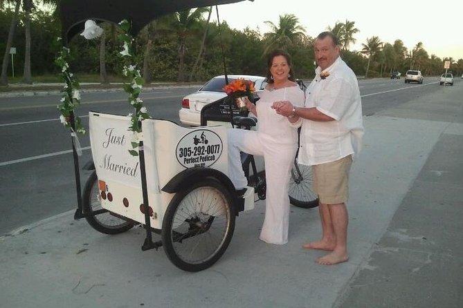 結婚式のPedicab輸送