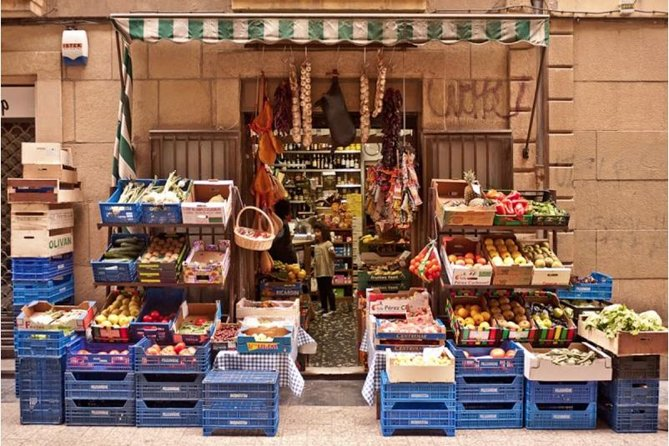 Farmer's Market Visit and Cooking Class in San Sebastian