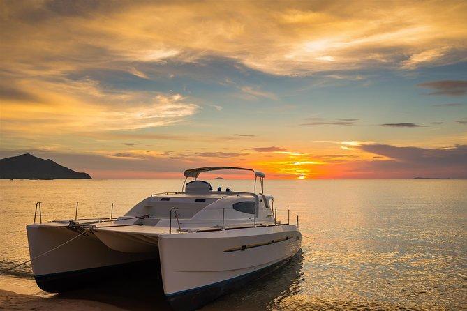 VIP privé bootcruise bij zonsondergang van Playa del Carmen