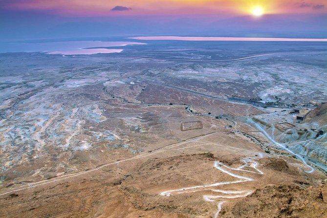 Dead Sea, Masada at Sunrise & Ein Gedi Nature Reserve Tour from Jerusalem
