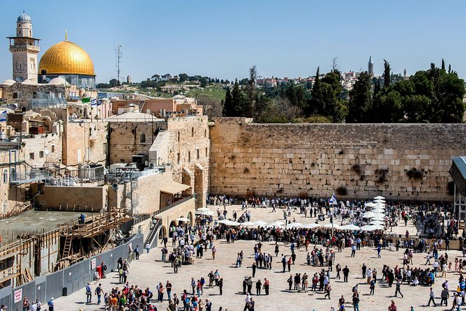 Jerusalem Guided Tour from Tel Aviv incl. Transportation