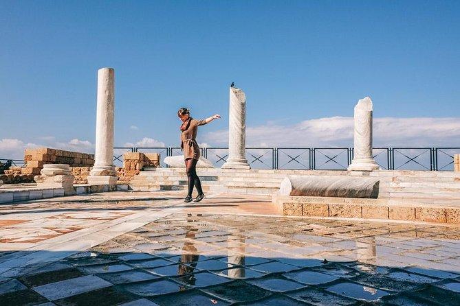 Explore the Roman city Caesarea