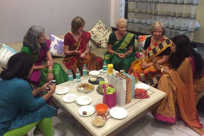Experiência tradicional de culinária e janta no Rajastão com uma família local