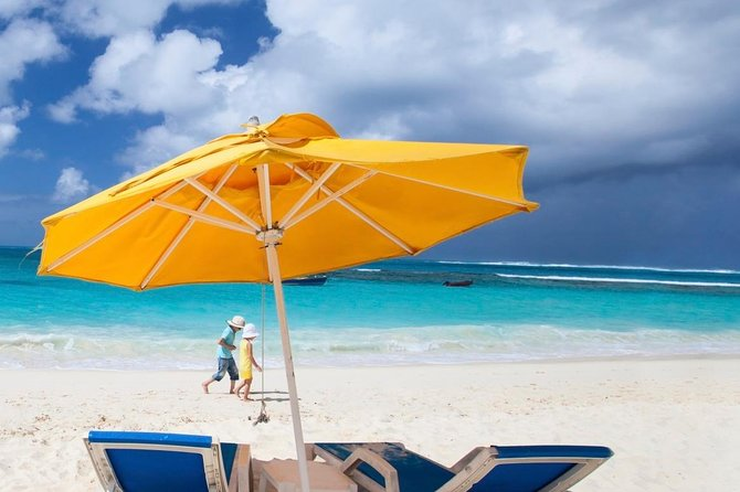 Relax on the beach on Carriacou island.