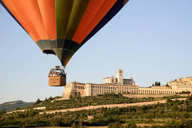 Balloon Adventures Italy, hot air balloon rides over Assisi, Perugia and Umbria