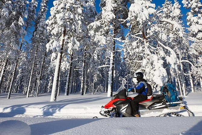 Snowmobile & Ice Fishing Experience