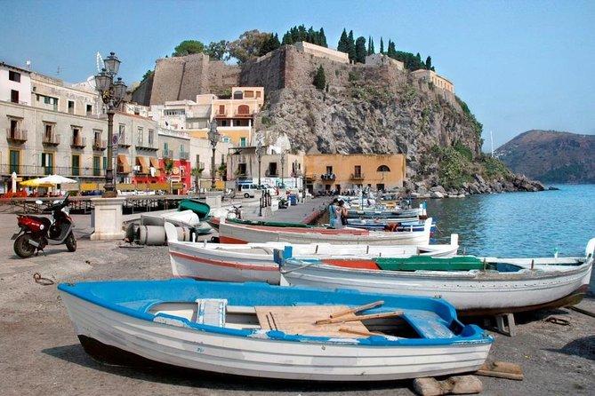 Lipari & Vulcano - Aeolian Islands Tour from Taormina