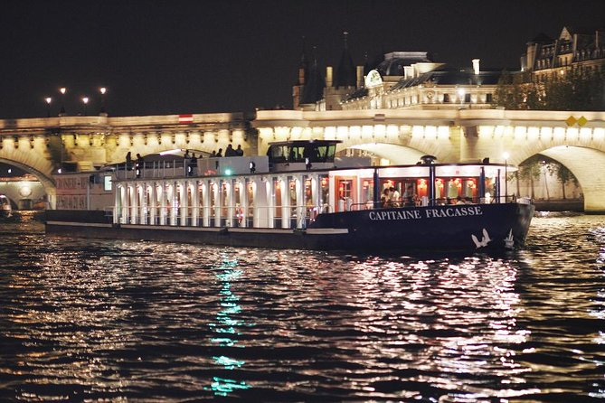 Paris Seine River Cruise with 3-Course Dinner on board CAPITAINE FRACASSE