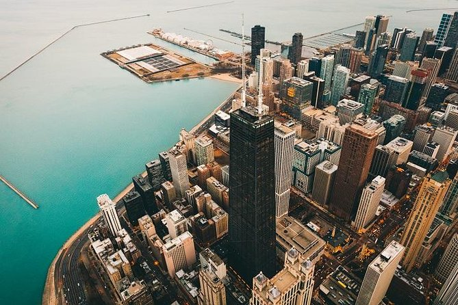 Private 15-minütige Helikopter-Tour in Chicago für zwei Personen