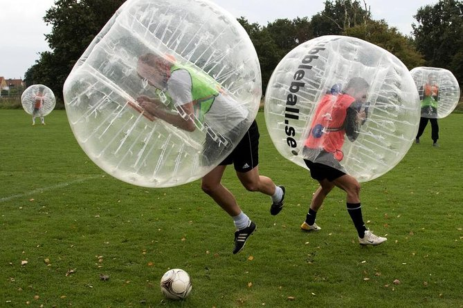 Bubble Football 1 hour south from Stockholm