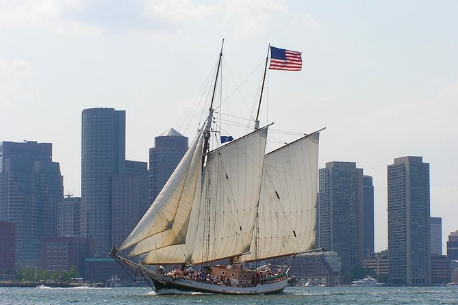 Harbor Cruise & Sail On Our 125 Foot Tall Ship Liberty Clipper in Boston
