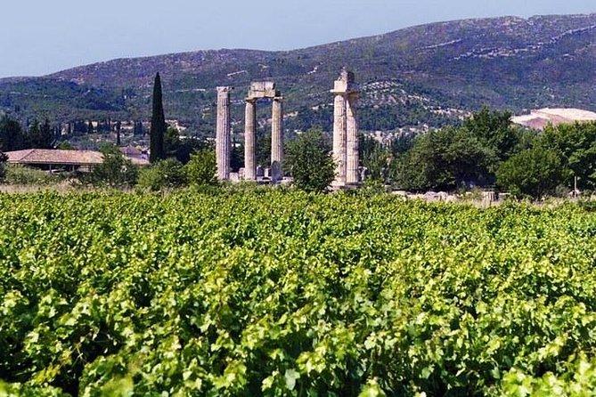 The Nemea wine roads with breathtaking Nafplion private tour