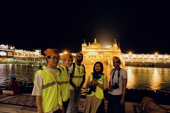 Tour à pied du temple d'or COP Amritsar