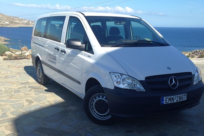 Private Transfers on Mykonos for up to 6 Passengers