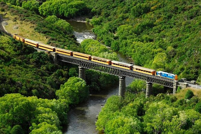 Taieri Gorge Railway and the Otago Peninsula Day Trip from Dunedin