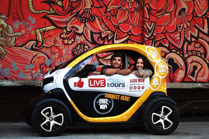 Lisbon Hidden: Self-Drive Private Tour in E-Cars