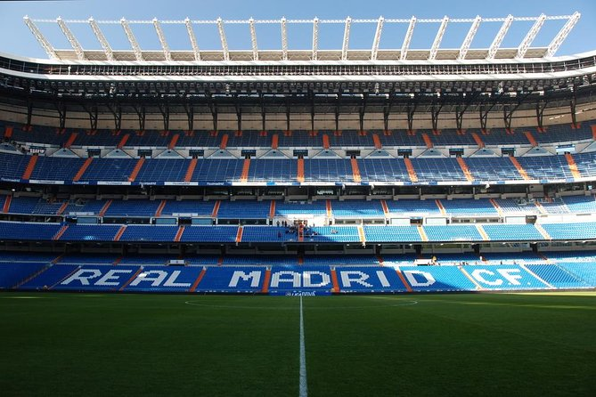 Santiago Bernabeau Stadium Real Madrid Match Admission Ticket 2021