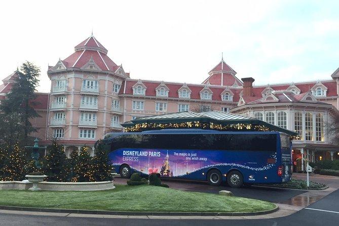 Round-Trip Coach Transport to Disneyland® Paris from Central Paris