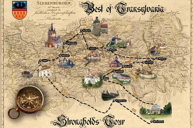 Strongholds Tour in Transylvania